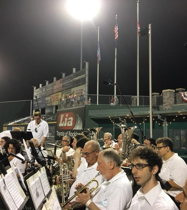 Ramsey Wind Symphony at the Rockland Boulders Game